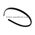 Черна диадема от пластмаса-0.70 см