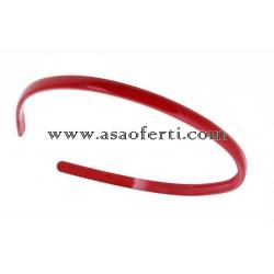 Червена диадема пластмаса-0.70 см