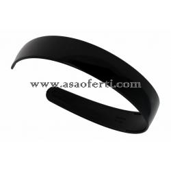 Черна диадема пластмаса-2.9 см