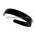 Черна диадема пластмаса-2.5 см