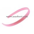 Розова диадема пластмаса-1.2 см