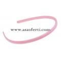Розова диадема от пластмаса-0.70 см