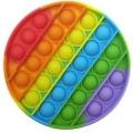 Поп Ит Цветни Кръг - фиджет играчка