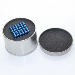 Сини магнитни топчета 5 мм