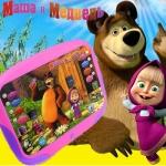 Интерактивен детски таблет Маша и Мечока
