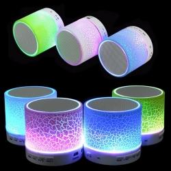 Bluetooth MP3 Колонка с диско ефекти