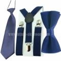 Комплект от 3 части в тъмно синьо