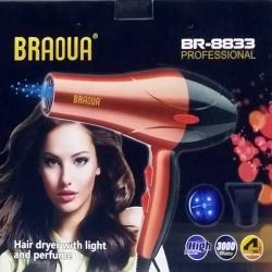 Сешоар 3000W BRAOUA BR-8833
