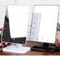 Светещо огледало за гримиране със сензор