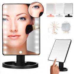 Голямо LED огледало за грим
