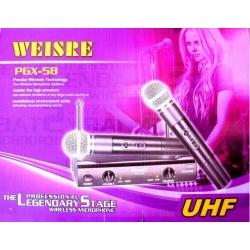 Двойка микрофони WEISRE PGX-58