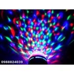 Диско крушка многоцветна-въртяща