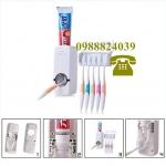 Диспенсър за паста за зъби и стойка за четки