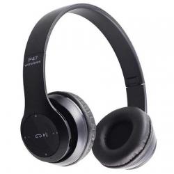 Безж.блутут слушалки OPEN P47, черни