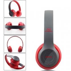 Червени Безж. блутут слушалки OPEN P47