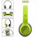 Зелени Безж. блутут слушалки OPEN P47
