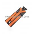 Тиранти цвят оранжев-унисекс