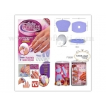 Печат/шаблони за нокти Salon Express Kit